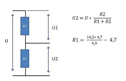 Voltage Divider project – SwanRobotics